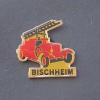 1 Pin's Sapeurs Pompiers De BISCHHEIM (BAS RHIN - 67) - Bomberos
