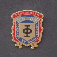 1 Pin's Sapeurs Pompiers De FEGERSHEIM (BAS RHIN - 67) - Bomberos