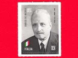Nuovo - MNH - ITALIA - 2019 - 60 Anni Della Morte Di Enrico De Nicola, Presidente – Ritratto – B - 6. 1946-.. Republic