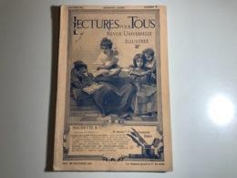 Revue - LECTURES Pour TOUS - Janvier 1901 - Cent Ans De Souvenirs Militaires.... - Boeken, Tijdschriften, Stripverhalen