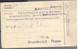 23989 - PG Au Camp De REGENSBURG - Marcofilia (sobres)