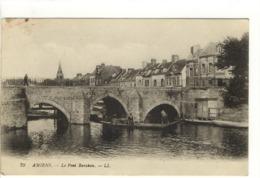 Carte Postale Ancienne Amiens - Le Pont Baraban - Amiens