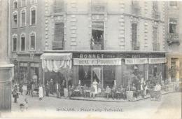 Romans-sur-Isère - Place Lally-Tollendal, Terrasse Du Café Bonnet - Carte Non Circulée - Romans Sur Isere