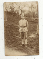 Cp, Carte Photo ,militaria ,militaire Du 136 E ,  Vierge - Characters