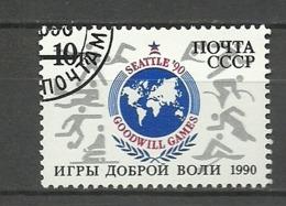 RUSIA URSS  1990  Mi:SU 6097 - Juegos Olímpicos