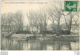 92 LEVALLOIS PERRET. Bac Pour L'Ile De La Grande Jatte 1909 - Levallois Perret