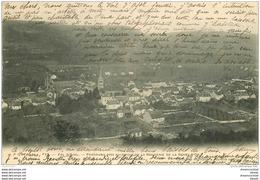 88 VAL D'AJOL. Vue Au Dessus Brasserie De La Gerbe D'Or 1904 - Francia