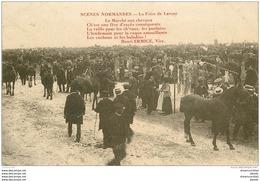 50 LESSAY. Sa Foire Avec Le Marché Aux Chevaux 1918 - France