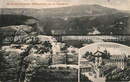 73531341 Grosser_Winterberg Panorama Blick Von Der Kaiserkrone Aus Berghotel Gro - Bad Schandau
