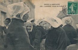 I141 - 22 - LANNION - Etude De Coiffes - Lannion