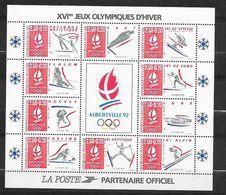 France Bloc N° 14c  JO   Albertville  Neuf **   TB   MNH VF ..................soldé - Sheetlets