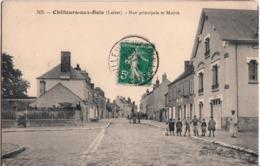 CHILLEURS AUX BOIS-RUE PRINCIPALE ET MAIRIE - Other Municipalities