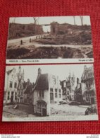 IEPER - YPRES  -  Lot De 4  Cartes D'Ypres Pendant La Guerre 1914-1918 - Guerre 1914-18