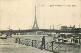 75 - PARIS - PONT MIRABEAU ET LA TOUR EIFFEL - Eiffelturm
