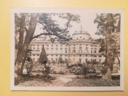 CARTOLINA POSTCARD GERMANIA DEUTSCHE 1947 RESIDENZ WURZBURG BOLLO OCCUPAZIONE ALLEATA OBLITERE' POSTKARTEN - Wuerzburg
