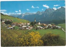 Ftan 1650 M. Engadin, Mit Piz St. Jon, Lischana Und Ajüz  - (Suisse/Schweiz) - GR Grisons