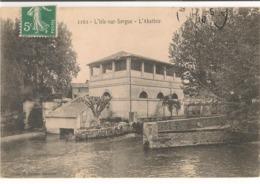 L'ISLE Sur SORGUE : L'Abattoir  (1910). - L'Isle Sur Sorgue
