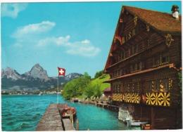Vierwaldstättersee - Treib Mit Brunnen Und Mythen (1903 M) -  (Suisse/Schweiz) - UR Uri
