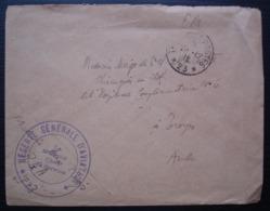 Réserve Générale D'aviation  1915 Trésor Et Postes *23*, Lettre En Franchise Pour Troyes - Postmark Collection (Covers)