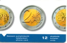 Pièce Monnaie Money Télécarte Magnétique Finlande 2 Euros Bank Banque   Phonecard  Telefonkarte (G 221) - Francobolli & Monete