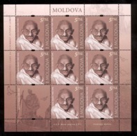 Moldova 2019 Mahatma Gandhi Sheetlet** MNH - Moldawien (Moldau)