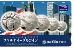 Pièce Monnaie Money América Carte Prépayée  Bank Banque Card Karte (G 224) - Francobolli & Monete