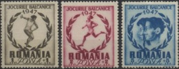--- 1947 Roumanie Y. 999 / 1001* M. 1096 / 1098* - 1918-1948 Ferdinand, Charles II & Michael