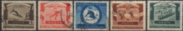 --- 1951 Roumanie Y. 1135 / 1139 (O) M. 1247 / 1251 (O) - Usado