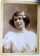 MISTINGUETT  PHOTOGRAPHIE ORIGINALE  TRES RARE ANCIENNE VERS 1900 FORMAT 15 X 11 CM COMPAGNIE FRANCO BELGE MARSEILLE - Célébrités