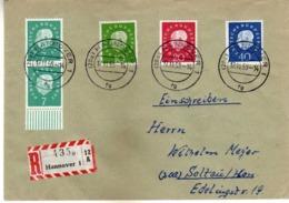 Germany R - Letter 1959 - Hannover - Stamp Motive - 1959 Professor Dr. Th. Heuss - [7] Federal Republic