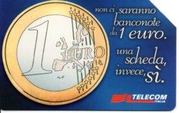Pièce Monnaie Money 1 Euro Télécarte Italie Bank Banque Phonecard  Telefonkarte (G 227) - Francobolli & Monete