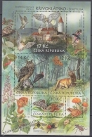 Czech Republic - Tcheque 2009 Yvert BF 36 - UNESCO - Nature Protection - Biospheric Reserve Of Krivoklatsko - MNH - Nuevos