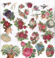 23 DECOUPIS FLEURS - Flowers