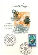 CARTE MAXIMUM 1969 CHARTE DE L'EAU - Maximum Cards