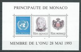 MONACO 1993 . Bloc Feuillet N° 62 . Neuf ** (MNH) . - Blocs