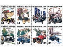 Ref. 5576 * MNH * - MARSHALL Islands. 2001. VINTAGE CARS . AUTOMOVILES ANTIGUOS - Marshall