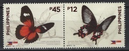Philippines (2019) - Set -  /  Joint Issue With Singapore - Butterflies - Butterfly - Papillon - Vlinders - Schmetterlinge