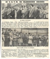 Blaringhem. Photo De Journal. Année 1979. 28 C.A.T.M Décorés. - Vieux Papiers