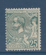 Monaco - YT N° 16 - Neuf Avec Charnière - 1891 à 1894 - Monaco