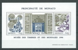 MONACO 1996 . Bloc Feuillet N° 73 . Neuf ** (MNH) . - Blocs