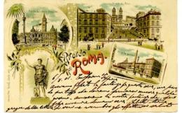 V 10303 Ricordo Di Roma F. - Roma (Rome)
