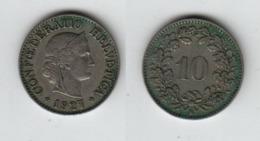 SUISSE 10 Rappen 1927 Switzerland - Schweiz