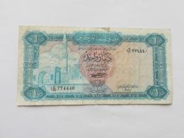 LIBIA 1 DINAR 1971 - Libië