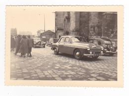 Dans Le 77 PHOTO Originale Citroën Traction 2CV Frégate Renault PUB Berger Patisserie Des Années 60 - Automobili