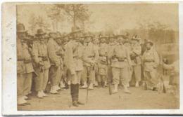 CDV PHOTO PHOTOGRAPHIE FRANCS-TIREURS DE LUXEUIL MILITARIA MILITAIRES - Guerre, Militaire