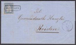 LU  ALTBUERON - Altbüron - ZELL 1866 - Covers & Documents