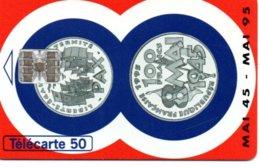 Télécarte France 100 Francs - Mai 1945/95 - Bank Banque  Phonecard  (G 230) - Francobolli & Monete