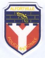 Insigne De La Police Nationale D'Alfortville - Polizia