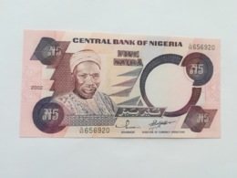 NIGERIA 5 NAIRA 2002 - Nigeria