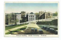 Canada Quebec Mcgill University Medical Building Unused Published By Fine Art Co. - Montreal